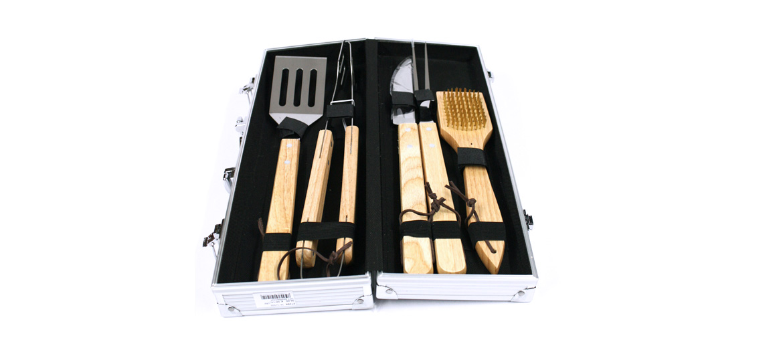 Set de utensilios de cocina para tus barbacoas - comprar online precio 39€ euros