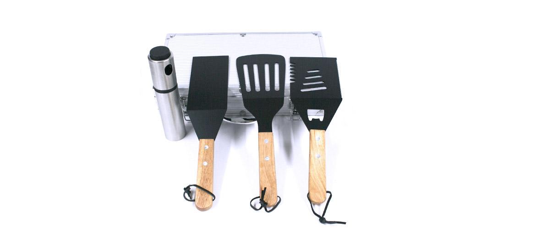 Set de utensilios de cocina para tus barbacoas - comprar online precio 55€ euros
