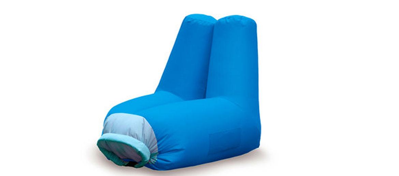 Sillón inflable para playa, piscina o excursiones - comprar online precio 64€ euros