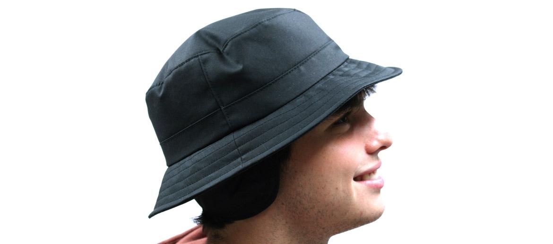 Sombrero con orejeras enrollable e impermeable para lluvia - comprar online precio 69€ euros