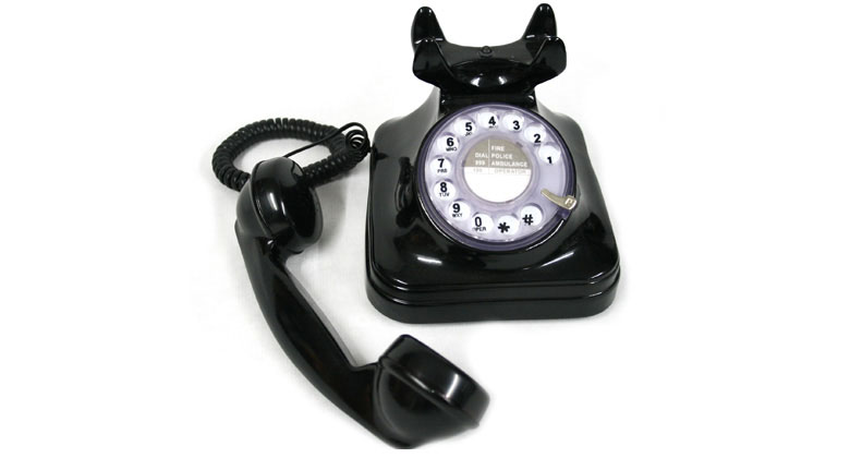 Teléfono fijo para casa o despacho replica antigua - comprar online precio 117€ euros