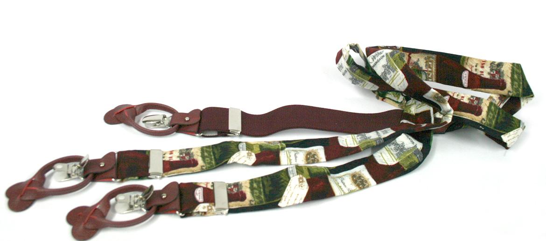 Tirantes de algodón para los aficionados a los vinos - comprar online precio 105€ euros
