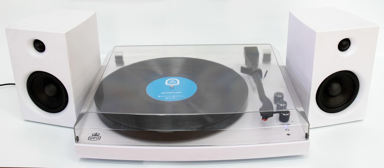 Tocadiscos reproductor de vinilos con altavoces y bluetooth - comprar online precio 155€ euros