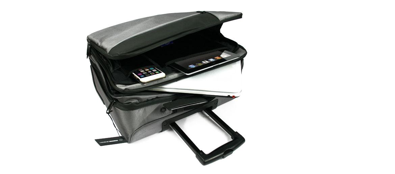 Trolley de cabina para trabajo y viaje marca Momo design - comprar online precio 192€ euros