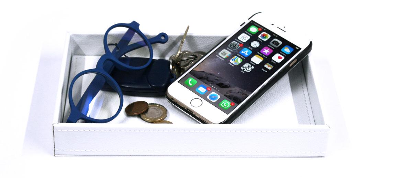 Vacía bolsillos blanco para casas modernas - comprar online precio 20€ euros