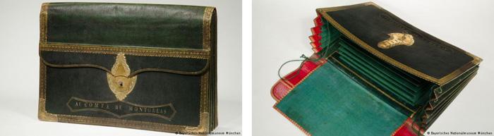 Carpeta portafolios siglo XVII y XVIII